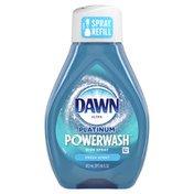 Dawn Platinum Dish Spray, Dish Soap, Fresh Scent Refill