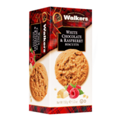 Walkers Shortbread White Chocolate & Raspberry Cookies