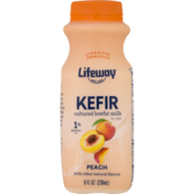 Lifeway Kefir, Lowfat, 1%, Peach