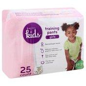 Basics For Kids Training Pants, 2T-3T (318-34 lb), Girls