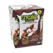 Sneakz Organic Yummy Veggie Nutrition Chocolate Milkshake