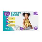 Berkley Jensen Premium Baby Diapers, Size 5