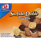 Gamesa Surtido Doble Assorted Cookies