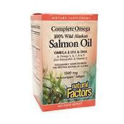 Natural Factors Wild Alaskan Salmon Oil Enteric Coated