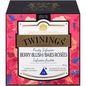 Twinings Berry Blush Infusion Large Leaf Herbal Tea Bags