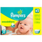 Pampers Premium Pampers Swaddlers Diapers Size 2 186 count  Diapers