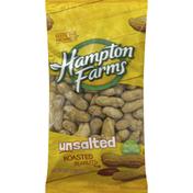Hampton Farms Peanuts, Roasted, Unsalted