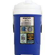 Igloo Cooler, Majestic Blue, 0.5 Gallon