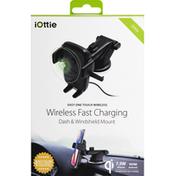 iOttie Dash & Windshield Mount, Wireless Fast Charging