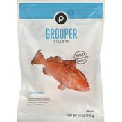 Publix Grouper Fillets, Wild Caught