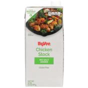Hy-Vee Chicken No Salt Added Stock