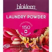 Biokleen Citrus Essence Laundry Powder Detergent 150 Loads