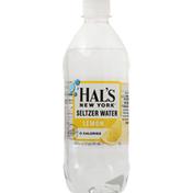 Hal's New York Seltzer Water, Lemon