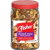 Fisher Mixed Nuts with Peanuts