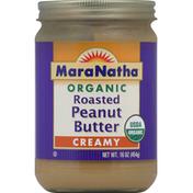 Maranatha Peanut Butter, Roasted, Creamy, Organic