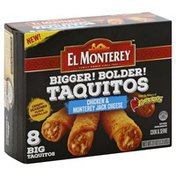 El Monterey Taquitos, Chicken & Monterey Jack Cheese, Big