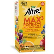 Nature's Way Alive!® Max3 Daily Multivitamin (No Iron)