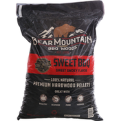 Bear Mountain Hardwood Pellets, Premium, Sweet BBQ