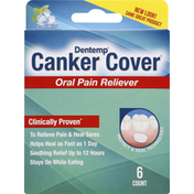 Dentemp Oral Pain Reliever, Canker Cover, Cool Mint