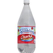 Ozarka Water, Natural Spring, Sparkling Raspberry Lime