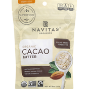 Navitas Organics Cacao Butter, Organic