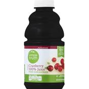 Simple Truth 100% Juice, Cranberry