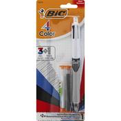 BiC Ball Pen, Mechanical Pencil, Medium, No. 2