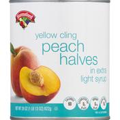Hannaford Peach Halves in Extra Lite Syrup
