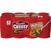 Campbell's® Sirloin Burger with Country Vegetables Soup