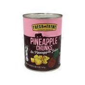 Fresh Thyme Pineapple Chunks