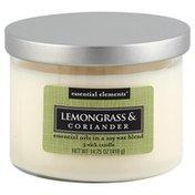 Candle Lite Candle, 3 Wick, Lemongrass & Coriander