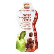 HappyFamily HappySqueeze Super Yumberry + Apple Organic Smoothie