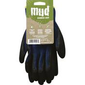 MUD Gloves, Bamboo Grip, Small/Medium, Cadet Blue
