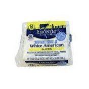 Lucerne Reduced Fat White American Slices