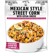 Tattooed Chef Street Corn with Cotija Cheese, Mexican Style