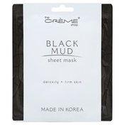 The Creme Shop Sheet Mask, Black Mud