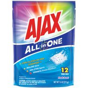 Ajax Automatic Dishwasher Detergent, All in One, Dish Pacs, Fresh Scent
