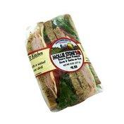 Mollie Stone's Ham & Swiss On Rye