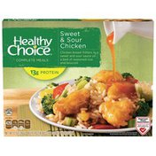 Healthy Choice Sweet And Sour Chicken  Complete Meals