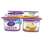 Light + Fit Pineapple 5.3 Oz Light & Fit Greek Yogurt