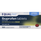 Equaline Ibuprofen, USP 200 mg, Coated Tablets