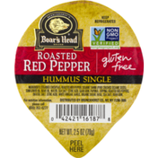 Boar's Head Gluten Free Hummus Single Roasted Red Pepper