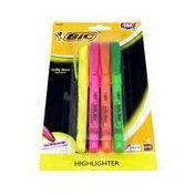 BiC Brite Liner Highlighter Marker, Assorted Colors