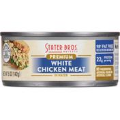 Stater Bros. Markets Chicken Meat, White, Premium