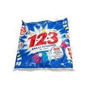123 Max Effect Fresca Blancura Laundry Detergent Powder
