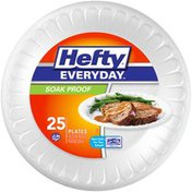 Hefty Soak Proof 10.25 in. Plates