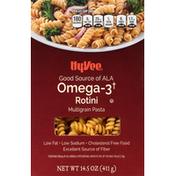 Hy-Vee Rotini Multigrain Pasta, Omega-3