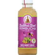 Buddha's Brew Kombucha, Basil Honey Ginger