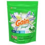 Gain Flings Liquid Laundry Detergent Pacs, Lavender