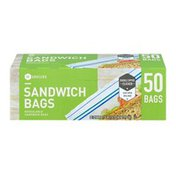 Southeastern Grocers Resealable Sandwich Bags - 50 CT